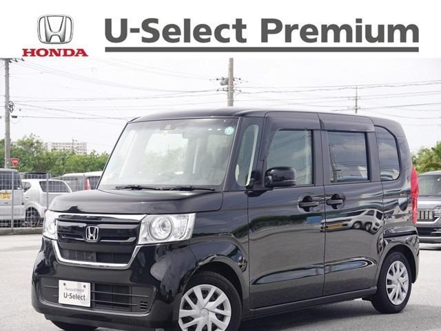 沖縄の中古車 ホンダ N-BOX 車両価格 159.8万円 リ済別 2020(令和2)年 0.3万km クリスタルブラック