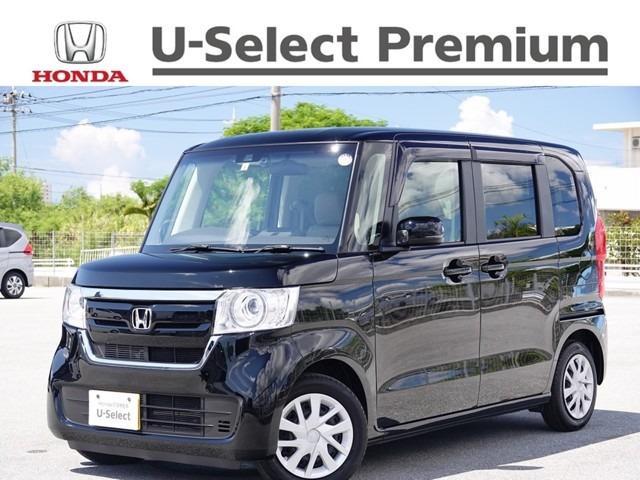 沖縄県の中古車ならN-BOX G・EXホンダセンシング デモカーアップ・衝突軽減ブレーキ付