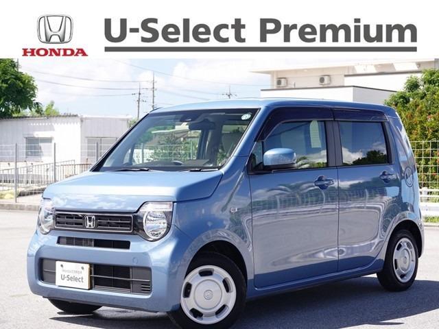 沖縄の中古車 ホンダ N-WGN 車両価格 143.8万円 リ済別 2020(令和2)年 1.2万km ホライズンブルーメタリック