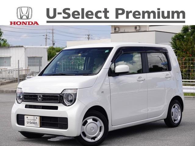 沖縄の中古車 ホンダ N-WGN 車両価格 143.8万円 リ済別 2020(令和2)年 0.7万km プラチナホワイトパール