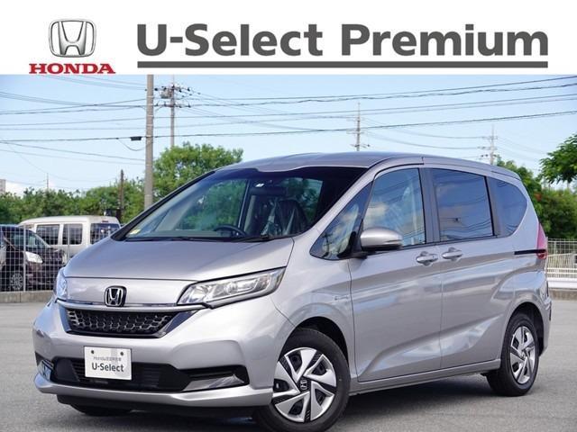 沖縄の中古車 ホンダ フリードハイブリッド 車両価格 253.8万円 リ済別 2021(令和3)年 7km ルナシルバーM