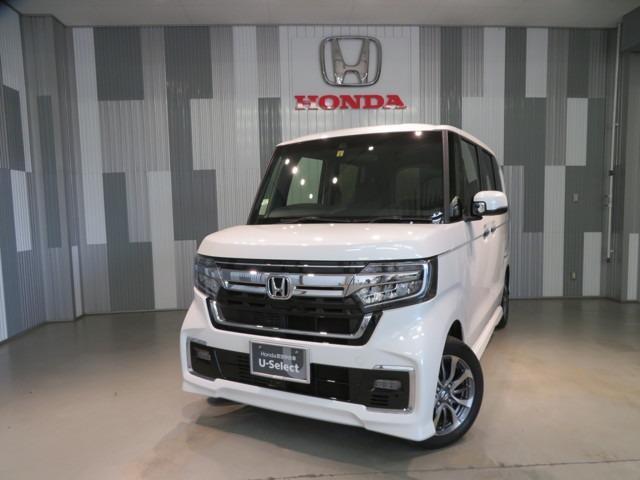 ホンダ N-BOXカスタム L 当社デモカー ギャザスメモリーナビ