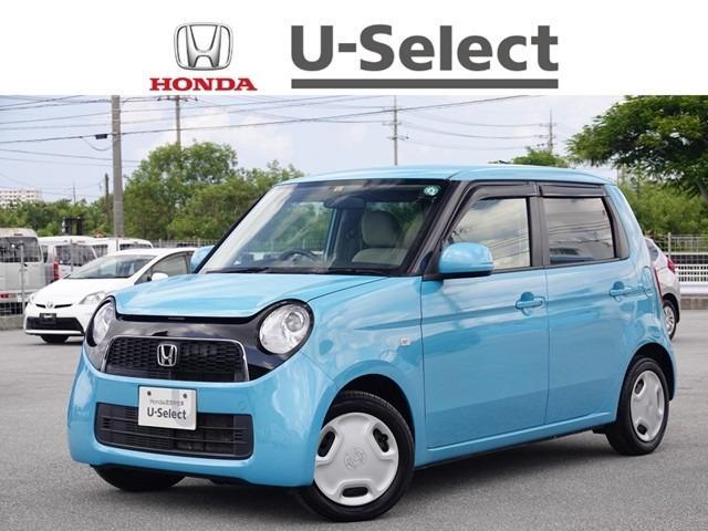 沖縄の中古車 ホンダ N-ONE 車両価格 72.8万円 リ済別 2013(平成25)年 6.4万km イノセントブルーメタリック