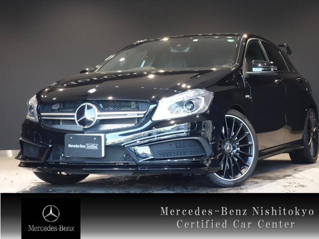 メルセデスAMG A45 4マチック イエローカラーライン 4WD 限定25台