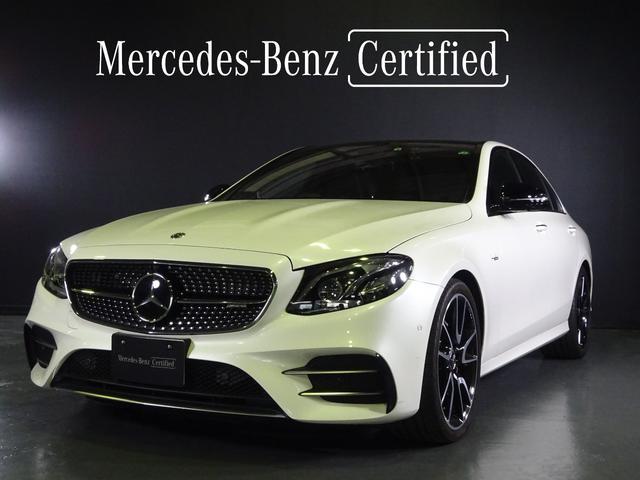 メルセデスAMG E53 4マチック+ レザーエクスクルーシブPKG ダイヤモンドホワイト 認定中古車2年保証