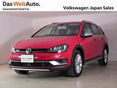 VW ゴルフオールトラック4MOTION UpgradePKG ナビ 認定中古車