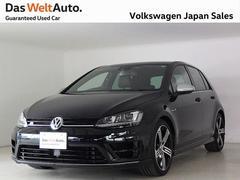 VW ゴルフRR 純正ナビ 黒レザー Rカメラ ワンオーナー 認定中古車