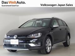 VW ゴルフオールトラックアップグレードパッケージ ワンオーナー認定中古車