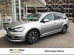 VW ゴルフヴァリアントTSIハイライン 認定中古車 NAVI・ETC