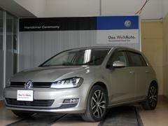 VW ゴルフTSIハイラインコネクト 1オーナー 専用AW 新車保証