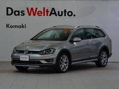 VW ゴルフオールトラックTSI 4MOTIONアップグレード レザーシート認定中古車