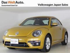 VW ザ・ビートルデザイン 禁煙当社デモカー使用 認定中古車