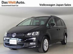 VW シャランTSI ハイライン 後席モニタ ワンオーナー 認定中古車