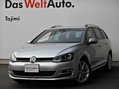 VW ゴルフヴァリアントTSI Highline 純正ナビ ETC リアセンサー