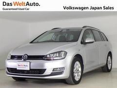 VW ゴルフヴァリアントTSIコンフォートラインデモカー使用車ディスカバープロ認定