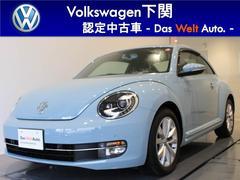VW ザ・ビートルデザイン レザーパッケージ ナビ ETC 17インチアルミ