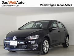 VW ゴルフハイラインBMT純正オンダッシュナビ・ETC装備