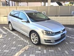 VW ゴルフヴァリアントTSIハイライン・ナビ・ACC・リヤカメラ 正規認定中古車