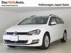 VW ゴルフヴァリアントコンフォートライン 純正ナビ 認定中古車