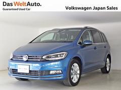 VW ゴルフトゥーランTSI ハイライン LEDライト 純正ナビ 元試乗車