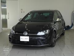 VW ゴルフRR 4WD ターボ レザーシート 禁煙1オーナー 認定中古車
