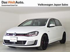 VW ゴルフGTIDCCPKG ナビ 社外18AW ワンオーナー 認定中古車