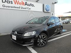VW ゴルフTSI Highline BlueMotion Technology Democar Navi