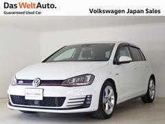 VW ゴルフGTIGTIディスカバープロ キセノン ワンオーナー 認定中古車