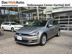 VW ゴルフヴァリアントTSI コンフォートライン 禁煙車 ワンオーナー 純正ナビ