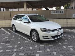 VW ゴルフヴァリアントTSIハイラインBMT ナビ・ACC・リヤカメラ・正規認定車