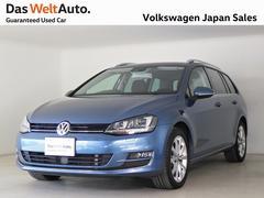 VW ゴルフヴァリアントTSI ハイライン 純正ナビ キセノン
