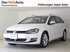 VW ゴルフヴァリアントTSI Highline 認定中古車 SSDNAVI