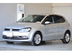 VW ポロTSI CL 純正ナビ Rカメラ ETC 新車保証継承