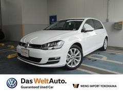 VW ゴルフTSI Highline BlueMotion Technology DemoCar