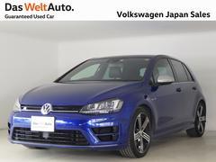 VW ゴルフR4WD ブラックレザーシート 認定中古車