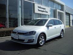 VW ゴルフヴァリアントAnniversary Edition NAVI