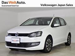VW ポロBlueMotion 1.0ターボ認定中古車SDナビ ACC