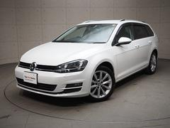 VW ゴルフヴァリアントTSIハイライン ディスカバープロナビゲーション