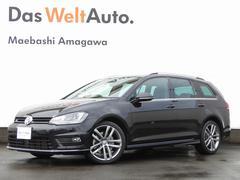 VW ゴルフヴァリアントR−Line Leather Navi