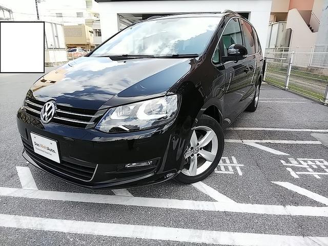 沖縄の中古車 フォルクスワーゲン VW シャラン 車両価格 250万円 リ済別 2015(平成27)年 2.3万km ディープブラック PE