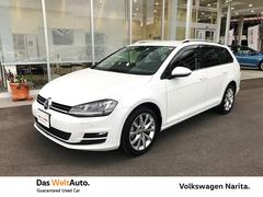 VW ゴルフヴァリアント TSI Highline VW認定中古車 Navi+ETC
