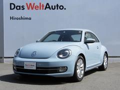VW ザ・ビートルデザイン レザーシート 社外ナビ キセノンライト 認定中古車