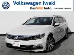 VW パサートヴァリアントTSI R−Line ワンオーナー 認定中古車 本革シート