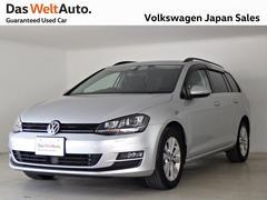 VW ゴルフヴァリアントコンフォートライン ディスカバープロキセノンライト認定中古車