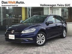 VW ゴルフヴァリアントTSI Comfortline ナビ・ACC・正規認定車