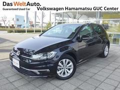 VW ゴルフ7.5コンフォートライン1オーナー 禁煙車 純正ナビ ETC