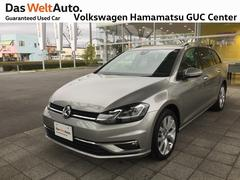 VW ゴルフヴァリアントハイライン デモカー 純正ナビ バックカメラ ETC