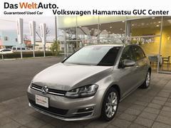 VW ゴルフハイライン 1オーナー 禁煙車 純正ナビ ETC