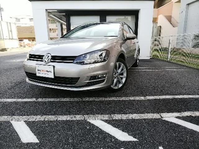 沖縄の中古車 フォルクスワーゲン VW ゴルフ 車両価格 200万円 リ済別 2016年 2.0万km タングステンシルバー M