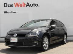 VW ゴルフヴァリアントハイライン 純正ナビ ACC リアカメラ 認定中古車